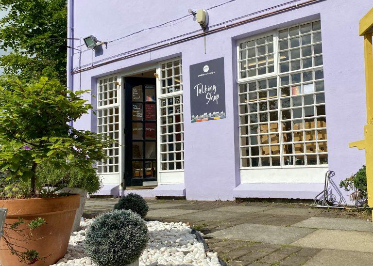Our Talking Shop Is Open! C'mon In!